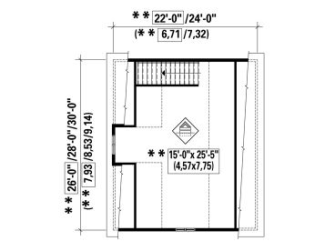 2nd Floor Plan, 072G-0016