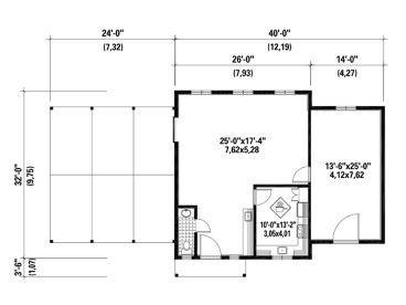 Floor Plan, 072B 0004