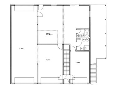 1st Floor Plan, 012G-0098