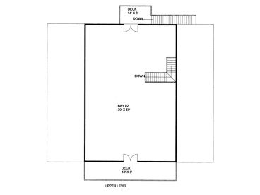 2nd Floor Plan, 012B-0008