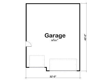 Tandem garage plans tandem garage plan parks 6 cars for 6 car garage size