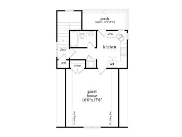 Garage apartment plans 2 car garage apartment design for Shop with living quarters floor plans