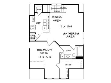 2nd Floor Plan, 019G-0011