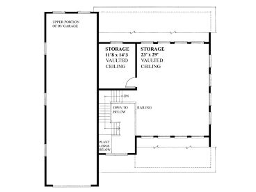 2nd Floor Plan, 010G-0018
