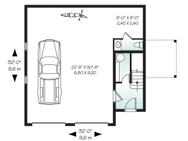 1st Floor Plan, 027G-0005