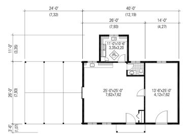 Outbuilding Plans | Sugar House Plan Flexible Enough to Accommodate ...