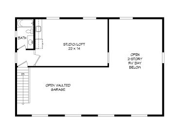 2nd Floor Plan, 062G-0162