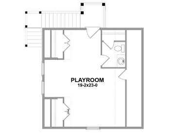 2nd Floor Plan, 076G-0001