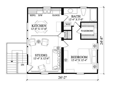 2nd Floor Plan, 063G-0001