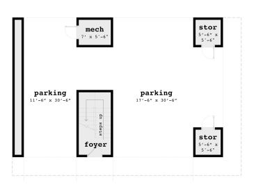1st Floor Plan, 052G-0016