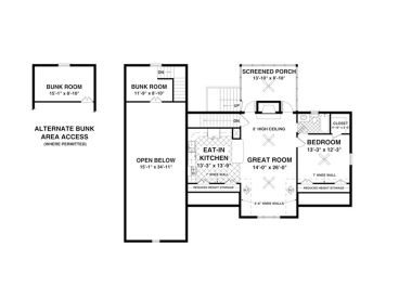 Carriage House Plans | Carriage House Plan with RV Bay # 007G-0016 ...