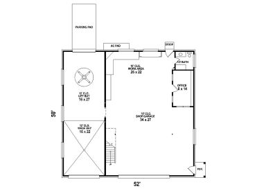 Small House Plans With 3 Car Garage House Plans And Home Floor Plans At