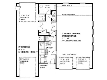 1st Floor Plan, 010G-0029