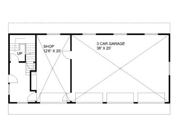 1st Floor Plan, 012G-0129
