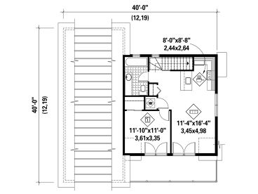 2nd Floor Plan, 072G-0035