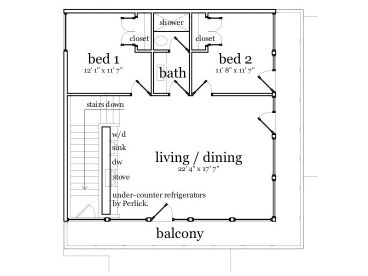 2nd Floor Plan, 052G-0005