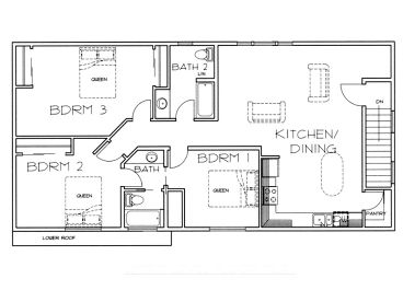 Shop With Living Quarters Floor Plans : Shop With Living Quarters Plans  Joy Studio Design ...