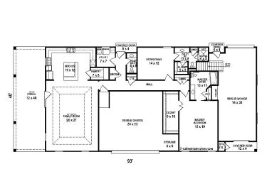 Plan 006h 0139 garage plans and garage blue prints from for 40x40 garage plans