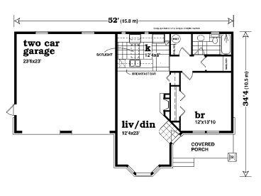 Garage apartment plans unique one story garage apartment for One story garage apartment plans