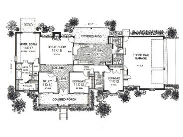 Narrow House Plans moreover Dhsw52219 furthermore Small House Plan D67 884 further 5156 moreover Tiny House Single Floor Plans Bedrooms Bedroo. on ranch house plans with tandem garage