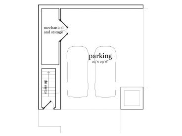 1st Floor Plan, 052G-0005
