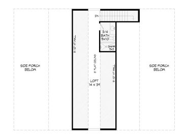 2nd Floor Plan, 062B-0001