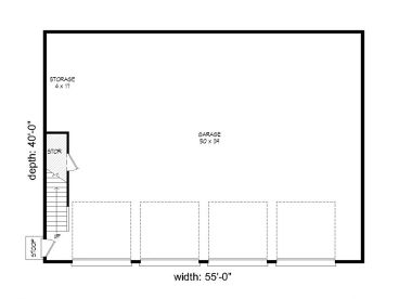1st Floor Plan 062G 0051