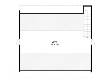 2nd Floor Plan, 062B-0011