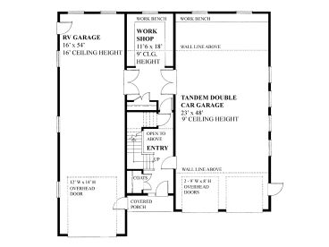 1st Floor Plan, 010G-0018