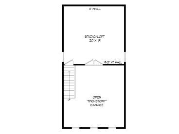 2nd Floor Plan, 062G-0120