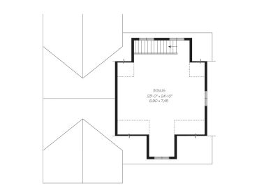2nd Floor Plan, 028G-0052