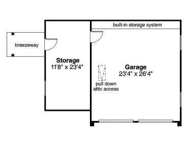 1st Floor Plan, 051G-0113