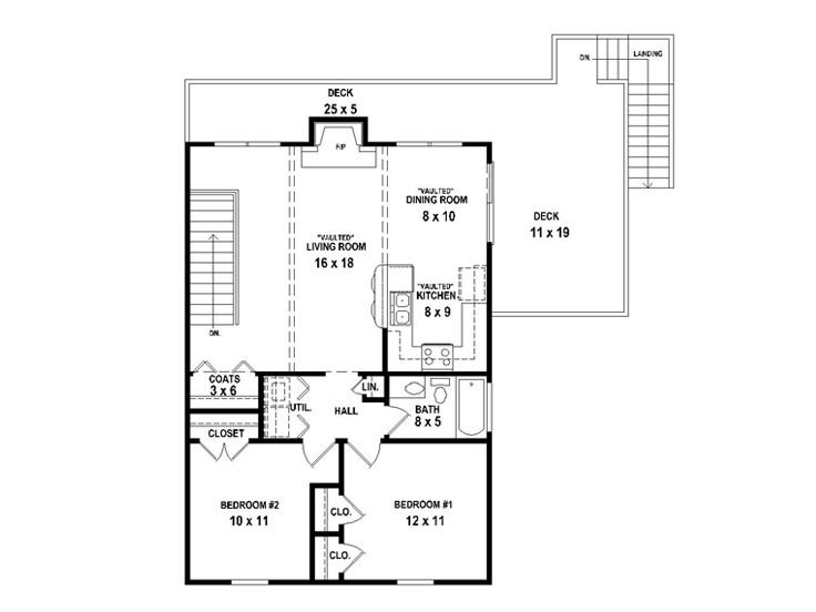 2nd Floor Plan, 006G-0144