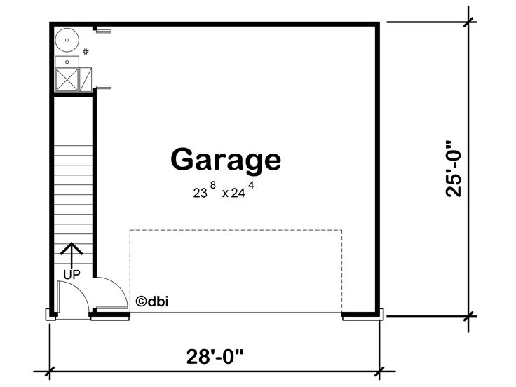 1st Floor Plan, 031G-0001