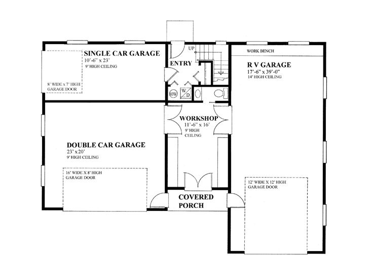 1st Floor Plan, 010G-0017