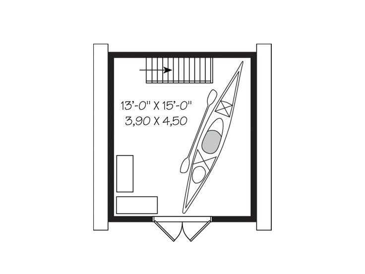 2nd Floor Plan, 028S-0015