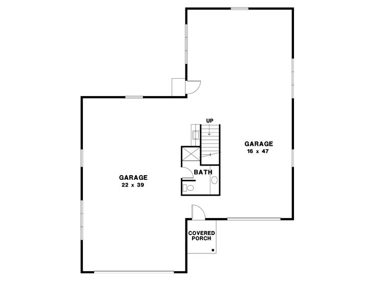1st Floor Plan, 024G-0008