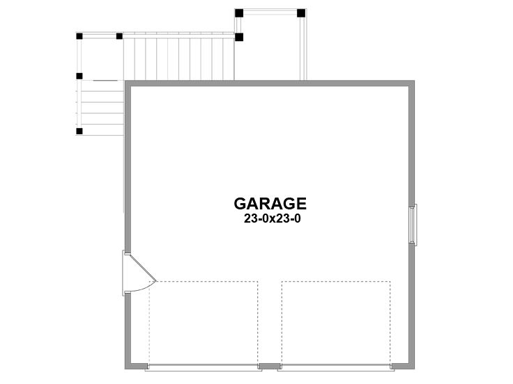 1st Floor Plan, 076G-0001