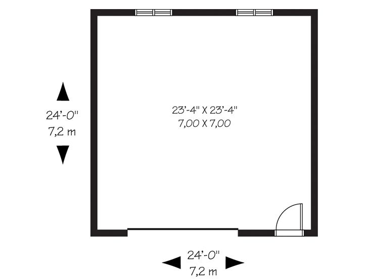 superior basic garage plans #4: Floor Plan