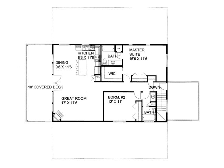 Plan 012g 0056 garage plans and garage blue prints from for Barn apartment floor plans