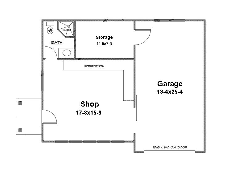 garage workshop plans