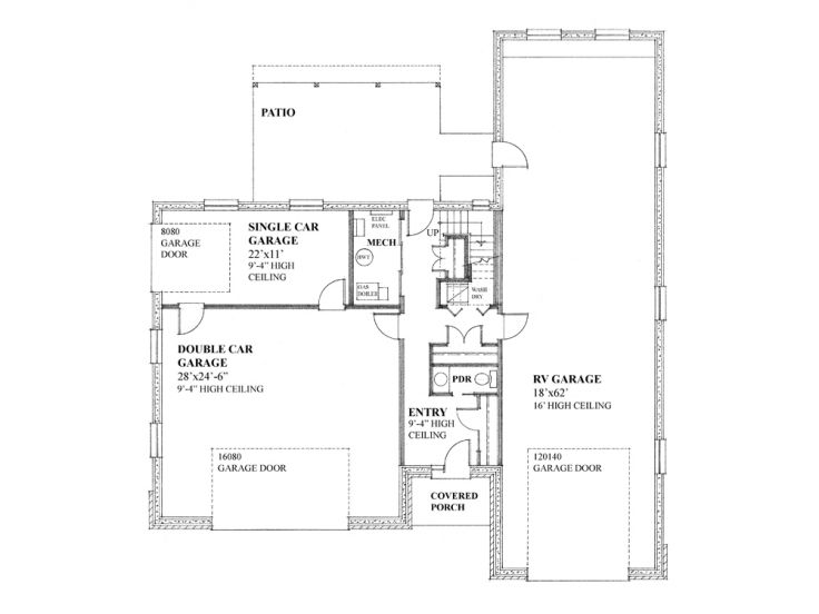 Unique Garage Plans Unique Garage Apartment Plan With Rv