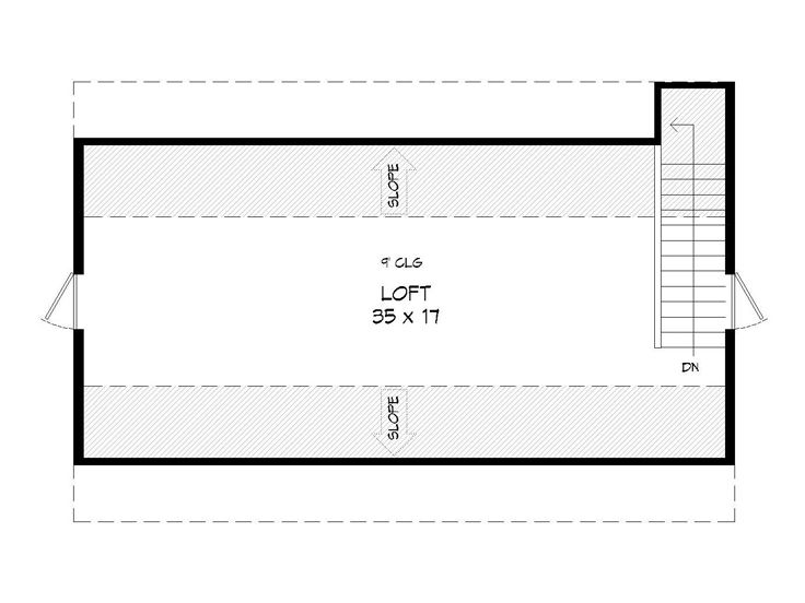 2nd Floor Plan, 062B-0004