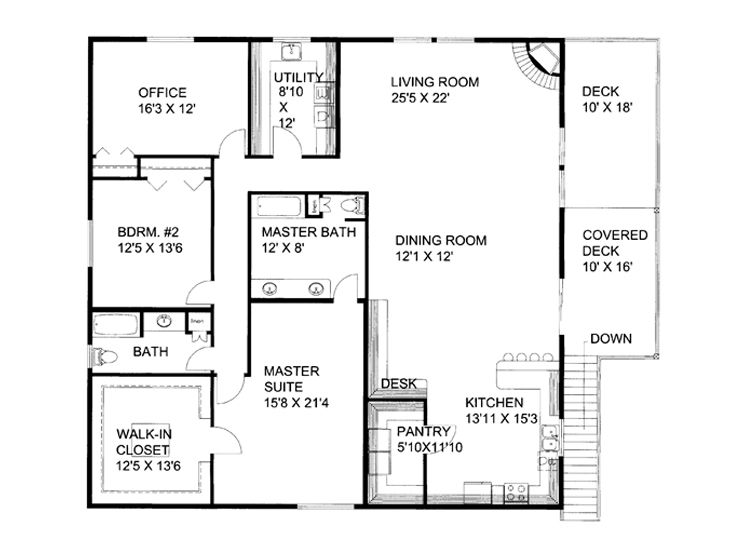 Plan 012g 0054 garage plans and garage blue prints from for Large garage plans