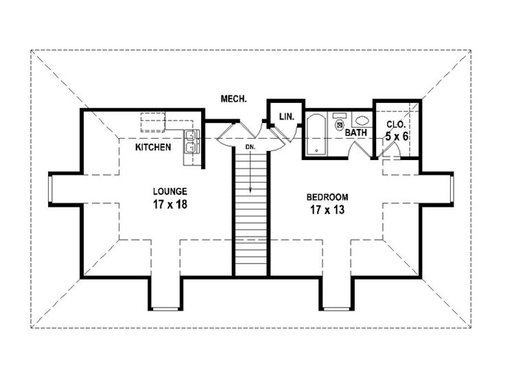 Garage Apartment Plans 4 Car Garage Apartment Plan