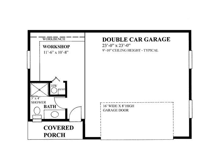 2 car garage with workshop floor plans trend home design workshop garage floor plans ahomeplan com
