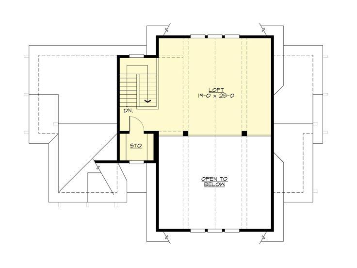 Tandem Garage Plans Tandem Garage Plan With All The