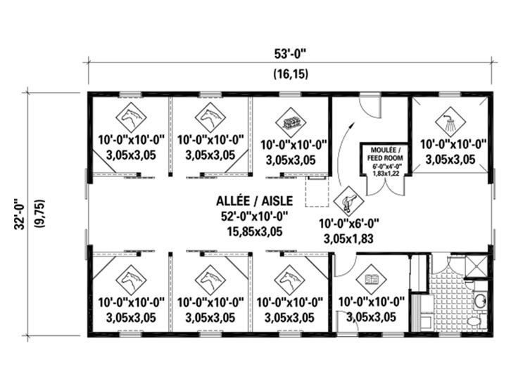 1st Floor Plan, 072B-0001