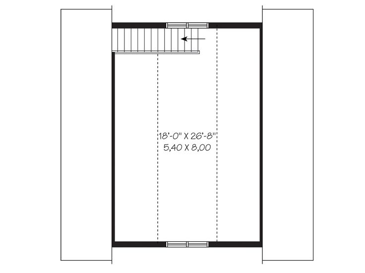 Garage loft plans detached 2 car garage loft plan 028g 2nd floor loft ideas