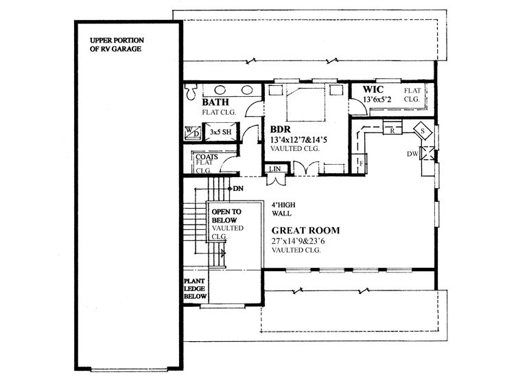 2nd Floor Plan, 010G-0029